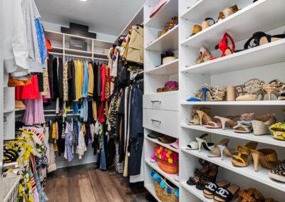 DKV seabreeze model walk in closet