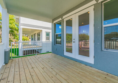 Bay Retreat Covered Porch